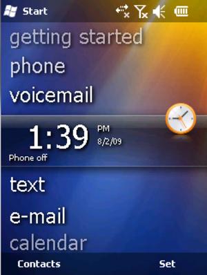 Windows Mobile 6.5 - Image: Winmo 65