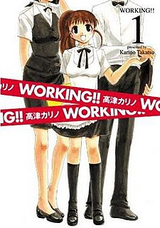 <i>Working!!</i> Japanese comic strip manga series and its adaptations