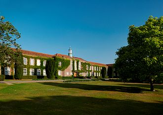Writtle University College - The front of Writtle University College