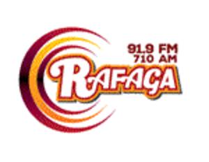 XHBL-FM - Logo briefly used with the Ráfaga name