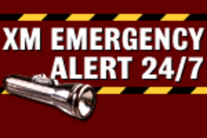 Sirius XM Weather & Emergency - Former XM Logo as XM Emergency Alert