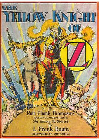 The Yellow Knight of Oz - Cover of The Yellow Knight of Oz
