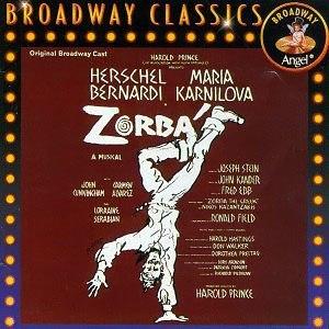 Zorba (musical) - Original Cast Recording