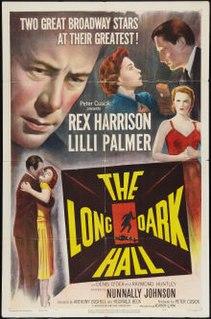 <i>The Long Dark Hall</i> 1951 film by Reginald Beck, Anthony Bushell