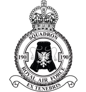 No. 190 Squadron RAF - Image: 190 Squadron Badge