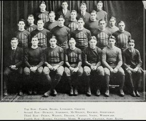 1921 Illinois Fighting Illini football team - Image: 1921 Illinois Fighting Illini football team