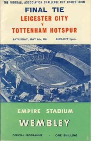 1961 FA Cup Final - Image: 1961facupfinalprog 2