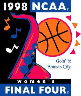 1998 NCAA Division I Women's Basketball Tournament - Image: 1998Womens Final Four Logo