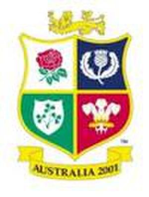 2001 British and Irish Lions tour to Australia - 2001 tour badge