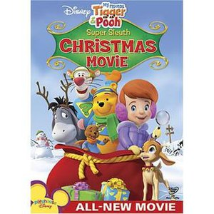 Super Sleuth Christmas Movie - DVD cover