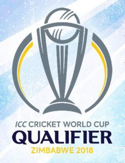 2018 Cricket World Cup Qualifier