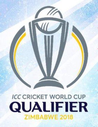 2018 Cricket World Cup Qualifier - Image: 2018 Cricket World Cup Qualifier official logo
