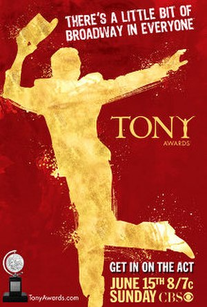 62nd Tony Awards - Image: 62nd Tony Awards poster