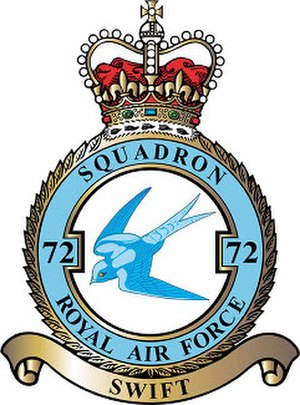 No. 72 Squadron RAF - Badge of No. 72 Squadron RAF