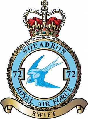 No. 72 Squadron RAF - Badge of No. 72 Squadron RAF