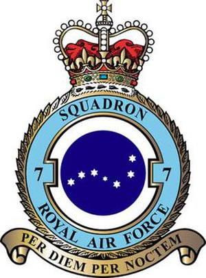 No. 7 Squadron RAF - 7 Squadron badge