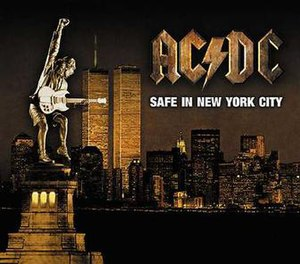 Safe in New York City - Image: Acdcsinyccover