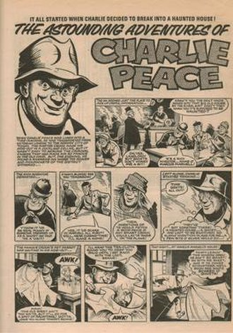 Charlie Peace (comics) - Image: Adventures of Charlie Peace