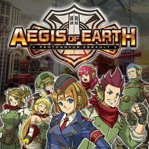 Aegis of Earth: Protonovus Assault - Image: Aegis of Earth Vita cover art