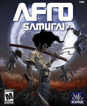 Afro Samurai (video game) - Image: Afro Samurai (video game) cover