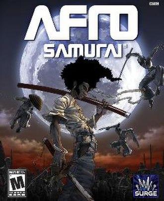 Afro Samurai (video game) - Image: Afro Samurai (video game) cover