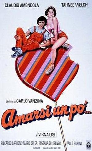 Amarsi un po' (film) - Italian theatrical release poster by Renato Casaro
