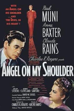 Angel on My Shoulder (film) - Original theatrical poster