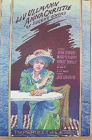 Anna Christie - Poster for the 1977 Broadway revival by James McMullan
