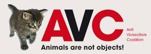 Anti-Vivisection Coalition - Image: Anti Vivisection Coalition (logo)