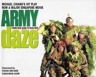 Army Daze - Image: Army daze movie poster