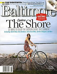 Cover of Baltimore's June 2012 edition