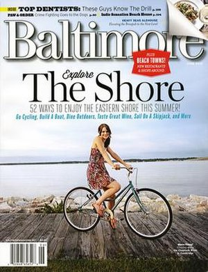 Baltimore (magazine) - Cover of Baltimore's June 2012 edition