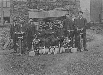 History of the Belfast Fire Brigade - Bangor Northern Ireland