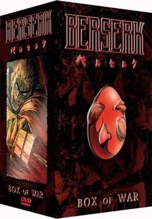 Berserk (1997 TV series) - American complete series boxset, 2003