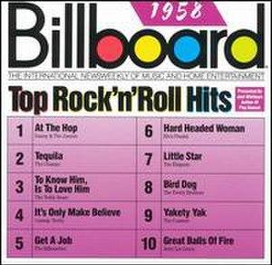 Billboard Top Rock'n'Roll Hits: 1958 - Image: Billboard Top Rock'n'Roll Hits 1958