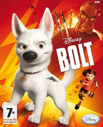 Bolt (video game) - Image: Bolt VG Boxart
