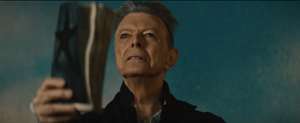 Blackstar (song) - Bowie in the music video