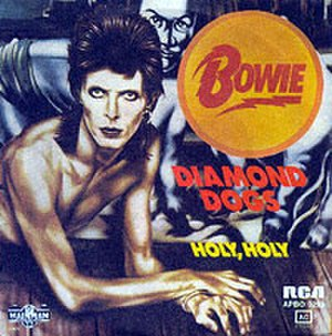 Diamond Dogs (song) - Image: Bowie Diamond Dogs Single