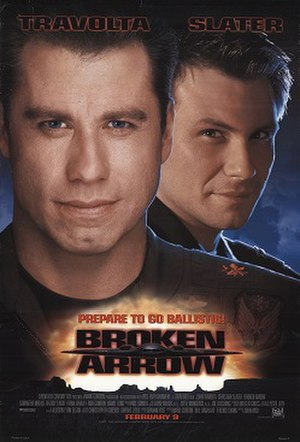 Broken Arrow (1996 film) - Theatrical release poster