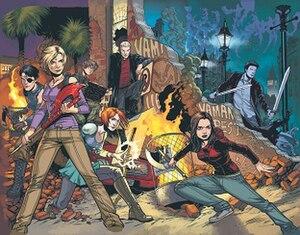 Buffy the Vampire Slayer Season Ten - Image: Buffy the Vampire Slayer (Season 10)