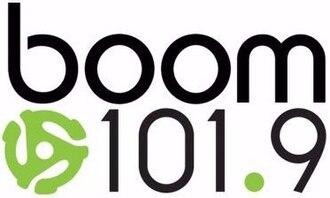 CKKY-FM - Image: CKKY boom 101.9 logo