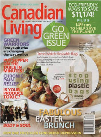 Canadian Living - Image: Canadian Living (magazine) cover