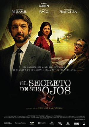 The Secret in Their Eyes - Argentine theatrical poster