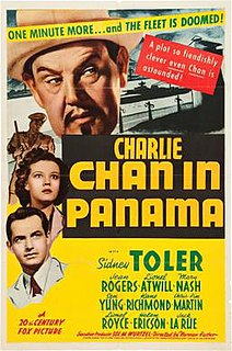 <i>Charlie Chan in Panama</i> 1940 film by Norman Foster