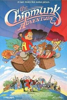 The Chipmunk Adventure movie