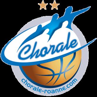 Chorale Roanne Basket - Former logo (2007–2014)