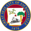 Official seal of Jacksonville, Arkansas