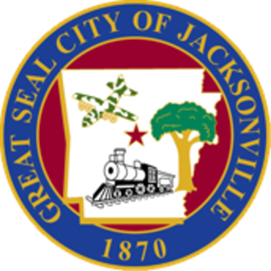 Jacksonville, Arkansas - Image: City of Jacksonville, AR City Seal