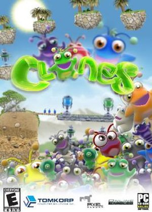 PC DVD case cover for Clones.