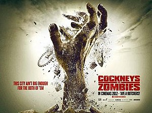 Cockneys vs Zombies - Theatrical teaser poster